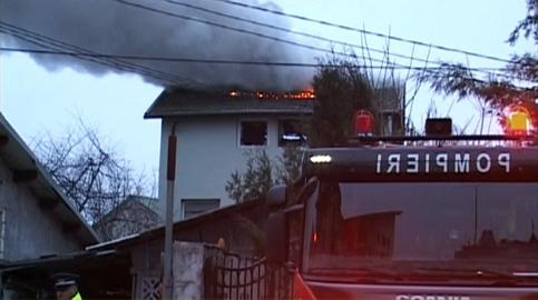 incendiu casa targovisate