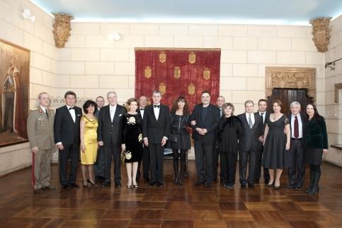 Principele Radu, Dineu la Palatul Elisabeta, 17feb2015, foto  Daniel Angelescu, (c) Casa MS Regelui (5)