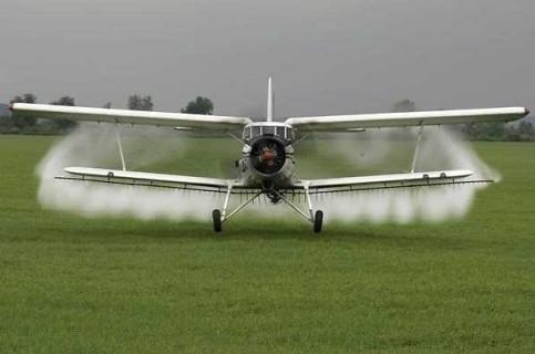 dezinsectie avion