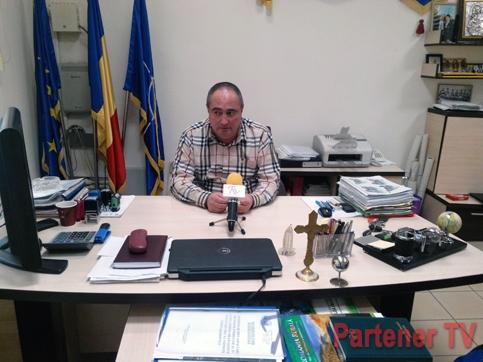 Gabriel Dănuţ Sandu, primarul comunei Voineşti
