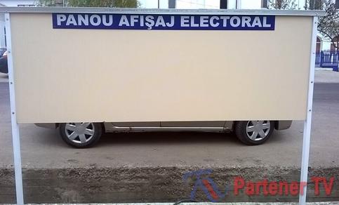 panou afisaj electoral voinesti