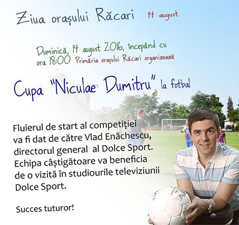 "Cupa ""Niculae Dumitru"" la fotbal"