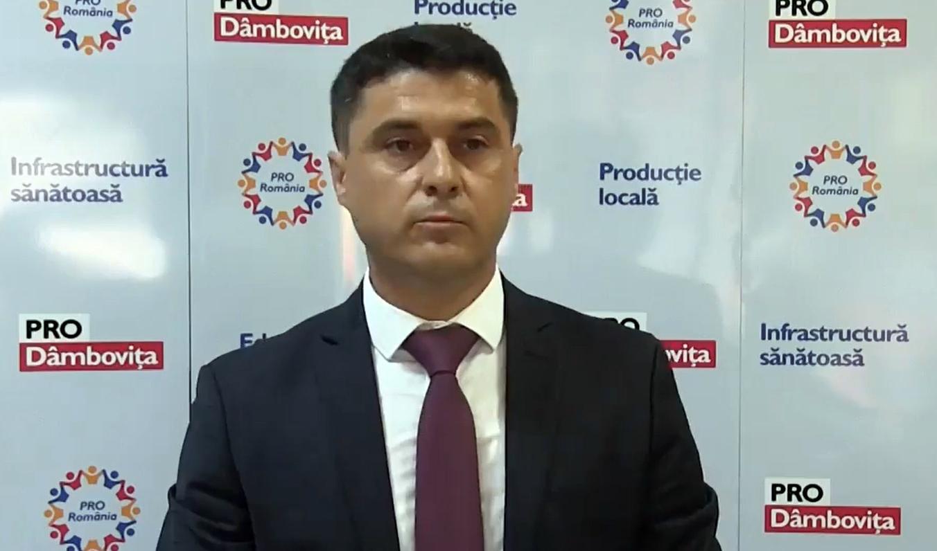 A fost anunțat public candidatul PRO România pentru funcția de primar al municipiului Târgoviște, în persoana tânărului Cosmin Bozieru.