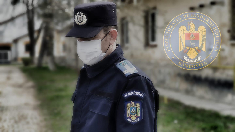 APELUL JANDARMERIEI DÂMBOVIȚA privind conduita socială responsabilă în prevenirea răspândirii COVID-19
