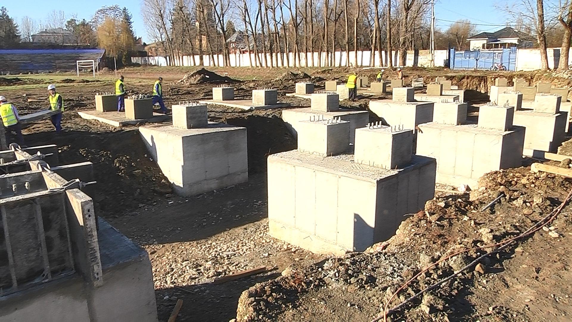 Săptămâna viitoare vor reîncepe lucrările de modernizare și reabilitare la  Stadionul Municipal Eugen Popescu